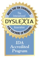 Accredited by IDA
